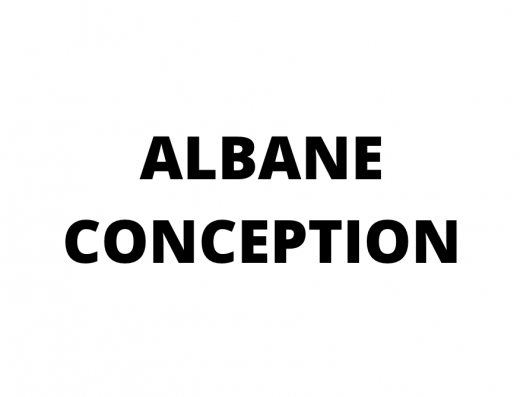 logo Albane conception